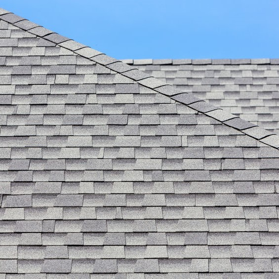new shingle roof installed