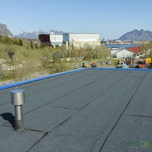 Variation of a Built Up Roof