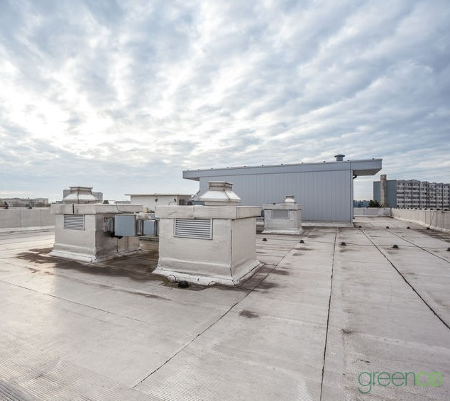 Hospital Roof Repair