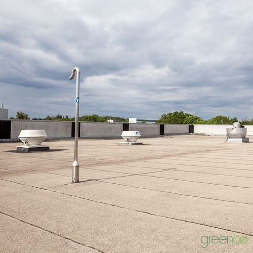 Roof Completed by Industrial Roofing Contractor