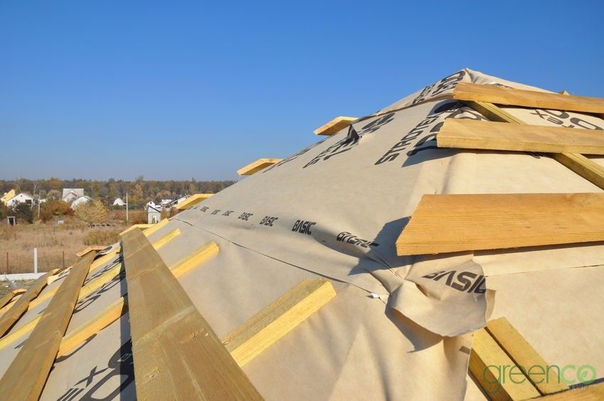 Residential Roof Installation Process Image