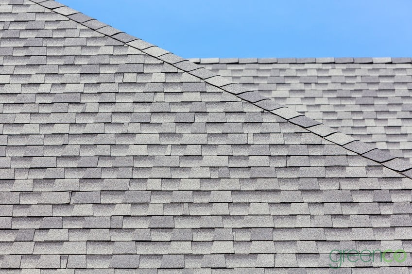 Roof With an Architectural Shingles Installation